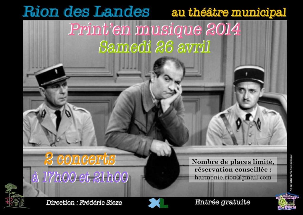 Concert Rion-des-Landes 2014