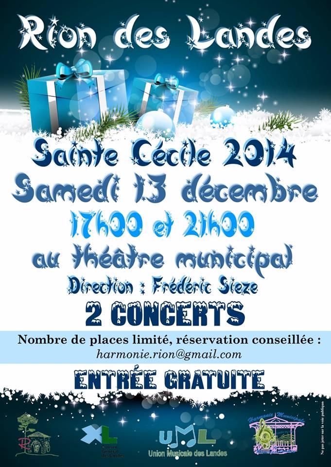 Rion-des-landes sainte cécile 2014