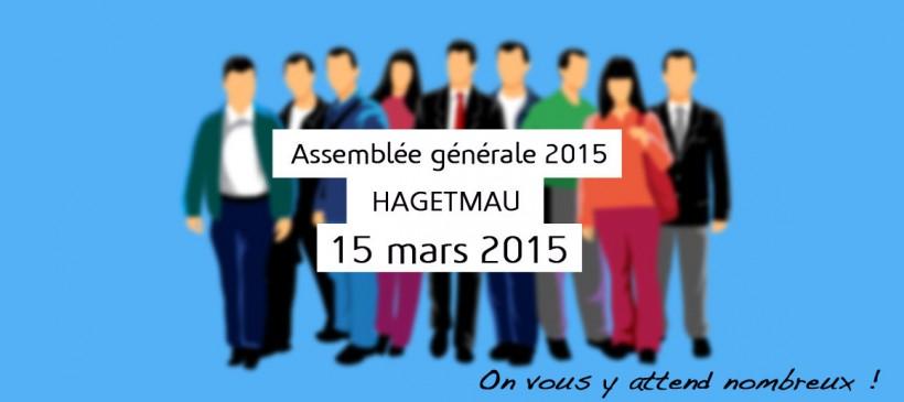 Assemblée générale le 15 mars 2015