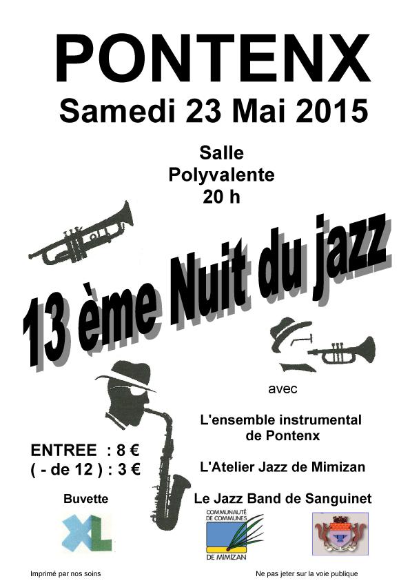 13e Nuit du Jazz de Pontenx