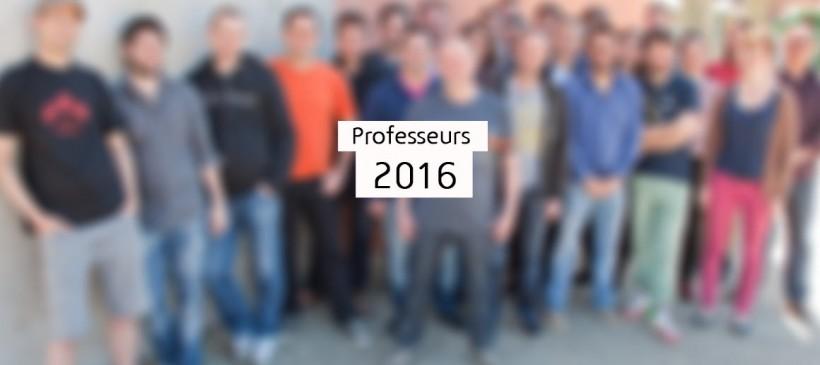 Stage 2016 : l'équipe pédagogique