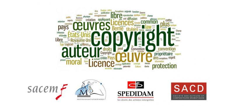 Droits d'auteurs : points pratiques
