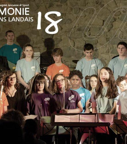 Retour sur le stage des jeunes musiciens landais 2018