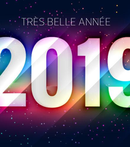 Votre année 2019 !